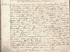 Borowno, 17 lutego 1867 r. Akt małżeństwa Jakuba Worwąga z Józefą Koćwin. (Księga małżeństw parafii Borowno)